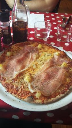 Le Q sale: pizza montagnarde