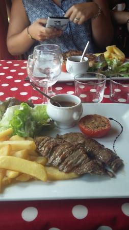 Le Q sale: plat menu