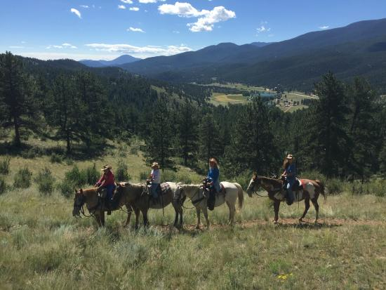 North Fork Ranch: Horseback Riding