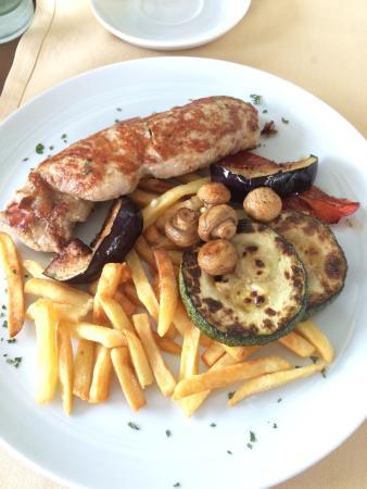 Hotel Villa Regina: Lunch was delicious and great value
