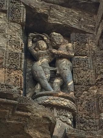 Konark Sun Temple - The Temple Art  - Kamasutra