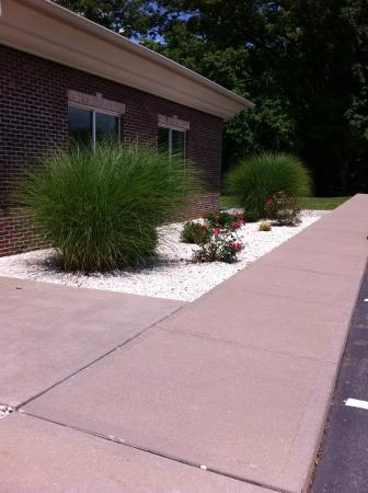 Holiday Inn Express Carrollton: Landscaping