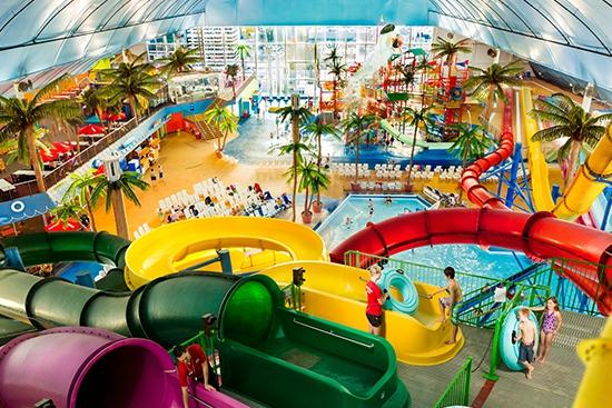 Skyline Hotel & Waterpark: Fallsview Indoor Waterpark