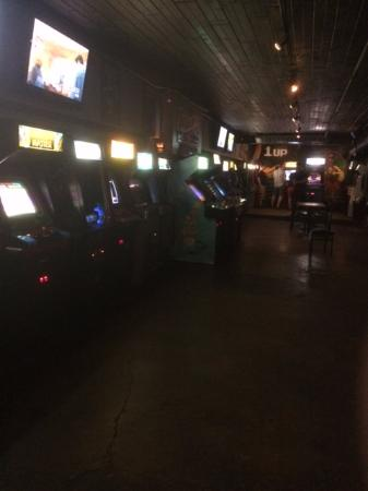 The 1 Up LODO: View Down One of the Game Aisles