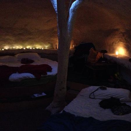 Dome Garden: Inside view - very cosy : )
