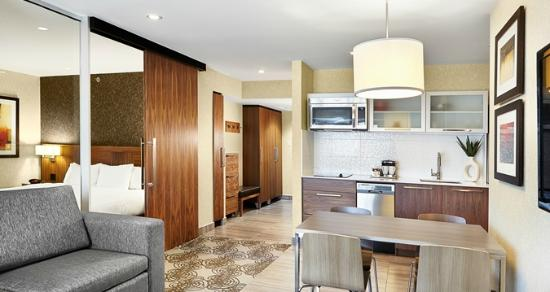 Suite with Kitchen and Living Room