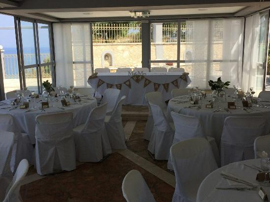 Our Beautiful Wedding Reception Picture Of Balcony Hotel Tsilivi
