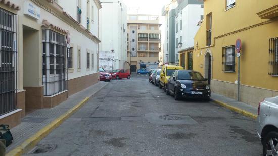 Hostal Costaluz: calle