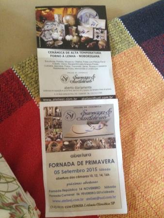 panfletos picture of atelier de ceramica suenaga jardineiro