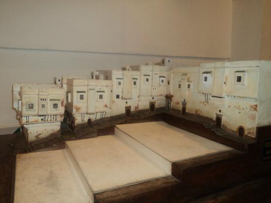 Le Bastion 23 - Palais des Rais : Maquette du Palais des Rais