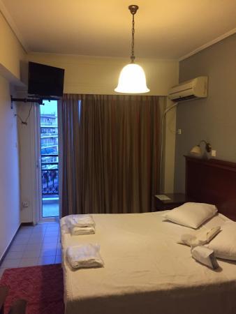 Apollo Hotel: Quarto do hotel.