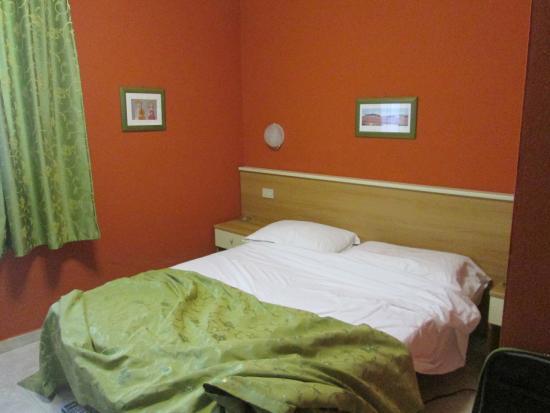 Hotel Turandot: the room