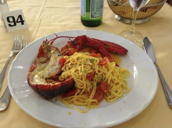 Restaurant La Piazzetta : tagliolini all'astice