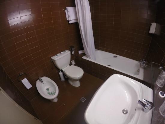Hotel Andorra Palace : el baño