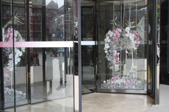 Wahaha Hotel Beijing Longfusi: Вход