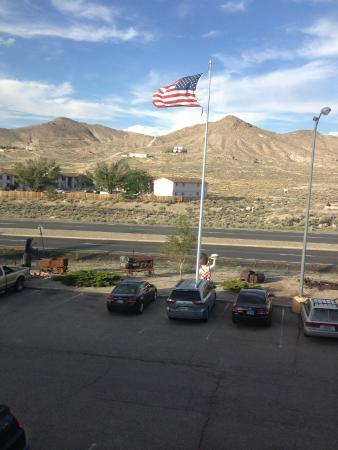 View From Our Room Picture Of Tonopah Station Hotel