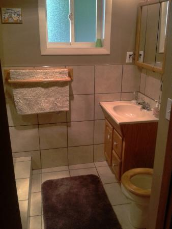Ann's Gavan Hill Bed & Breakfast: Guest bathroom