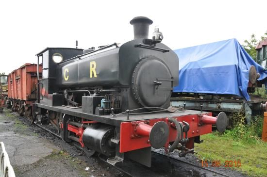 the only working steam engine - Picture of Caledonian Railway ...