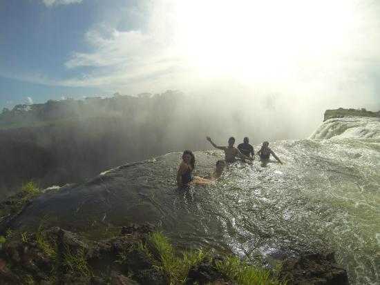 Devil's Pool: Zambia