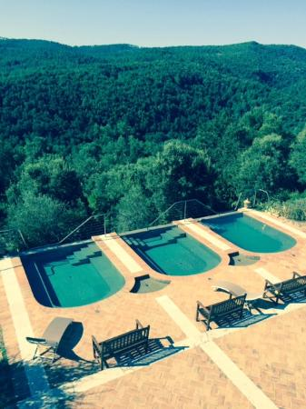 Villa Ferraia: Plunge pools