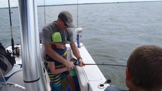 Sharkin Charleston/Dolphins of Charleston: First catch