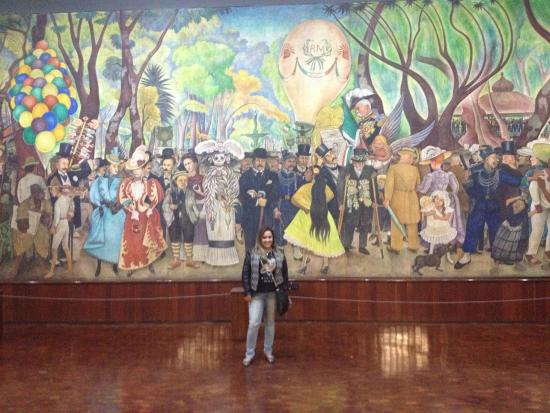 Picture of museo mural diego rivera mexico city tripadvisor for Mural diego rivera