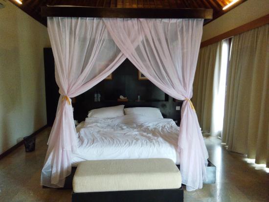 The Palm Suite Villa & Spa : Room Area: Bed