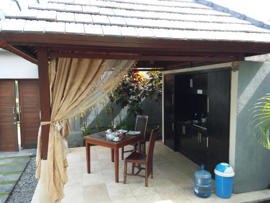 The Palm Suite Villa & Spa : Dining Area