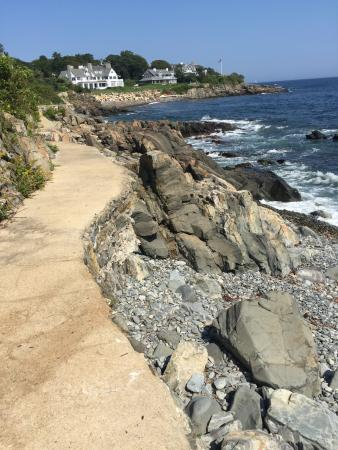York Harbor, Maine: One of the best path I've walked on  The path is quite scenic, having that salty breeze from the
