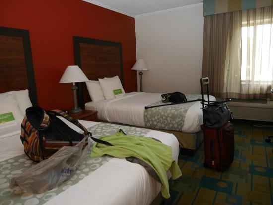 La Quinta Inn Auburn Worcester: our room