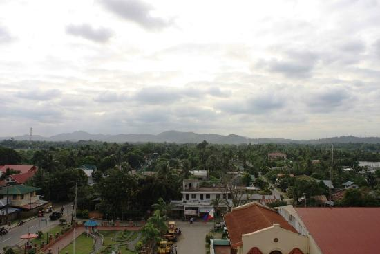 Capiz Province, Philippines: Town of Pan-ay, Capiz - view from belfry