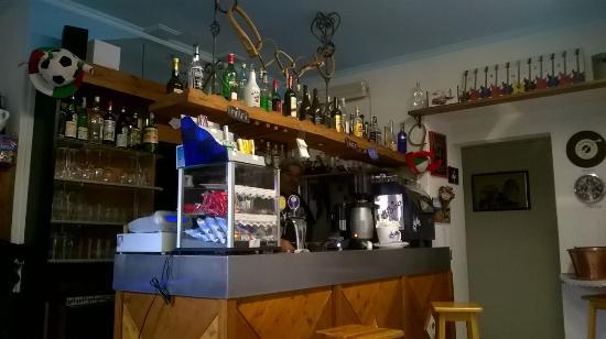 Mini bar finero: il bar di dentro
