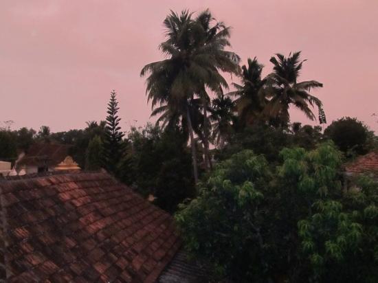 Arunima Heritage Home: Вид из окна номера.  2 этаж.