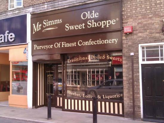 Mr Simms Olde Sweet Shoppe Ely