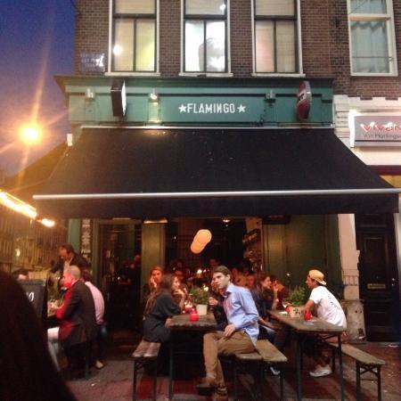 Photo of Bar Cafe Flamingo at Eerste Van Der Helststraat 37, Amsterdam 1073 AC, Netherlands