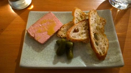 Hilltop Bistro: Pate Campagne with pickles and sourdough