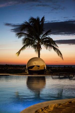 Rancho Santana: Sunset at The Pool Bar & Cabanas at Playa Santana