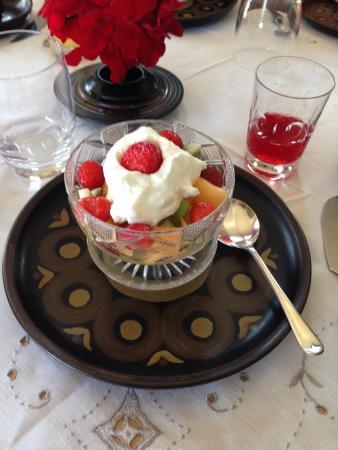 The Boathouse B&B : The breakfast starter