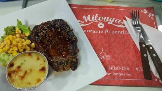 Milonga, Restaurante Argentino