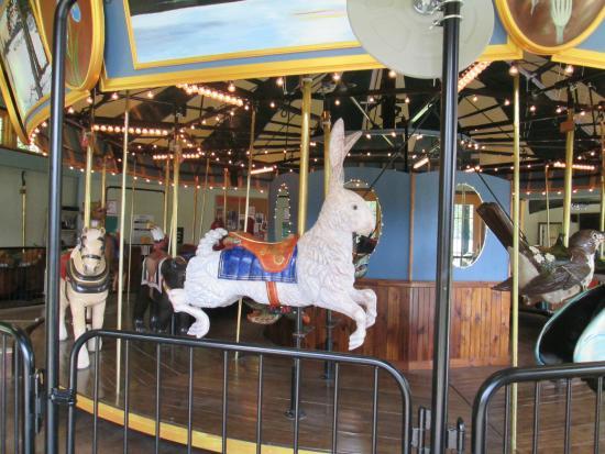 Adirondack Carousel: unique rides
