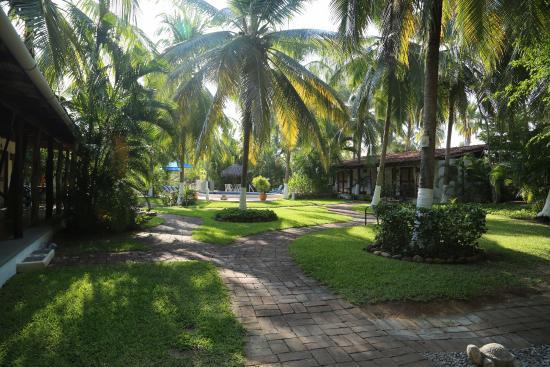 Villa Don Manuel: Villa grounds