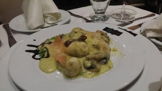 Entrada de salm n con champi ones delicioso picture of - Salmon con champinones ...