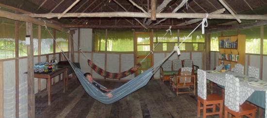 La Fuente del Amazonas Lodge : Comedor