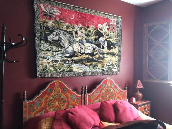 Dar JAND : Berber Hmar Room