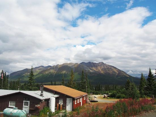 Cantwell, AK: View of the mountains during the summer