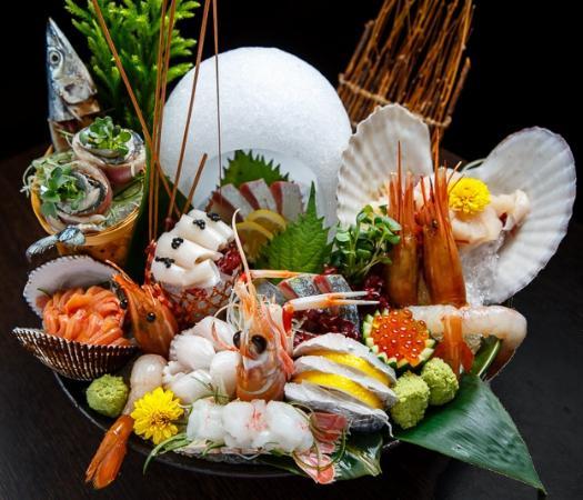 Ishin Japanese Dining: Chef Recommended Sashimi