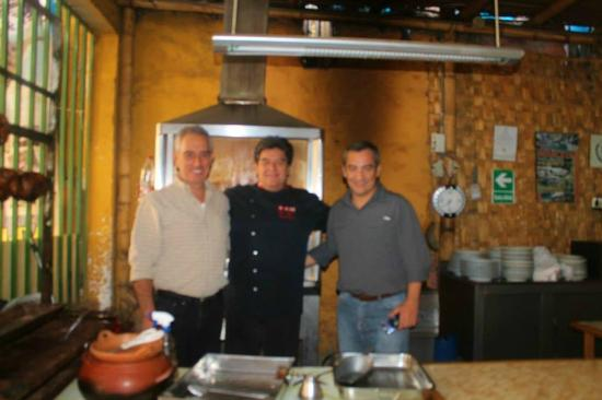 Piscopollo Restaurant : Con cheff Lalo