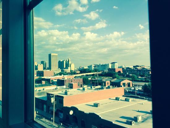 Homewood Suites by Hilton Oklahoma City-Bricktown : View of downtown OKC