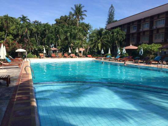 Basaya Beach Hotel & Resort: big and deep swimming pool