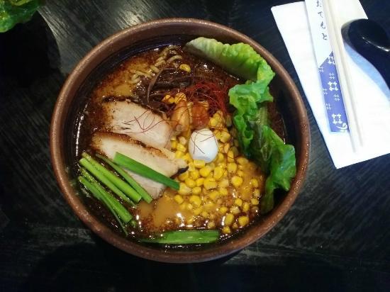 Ramen Dojo: garlic pork ramen